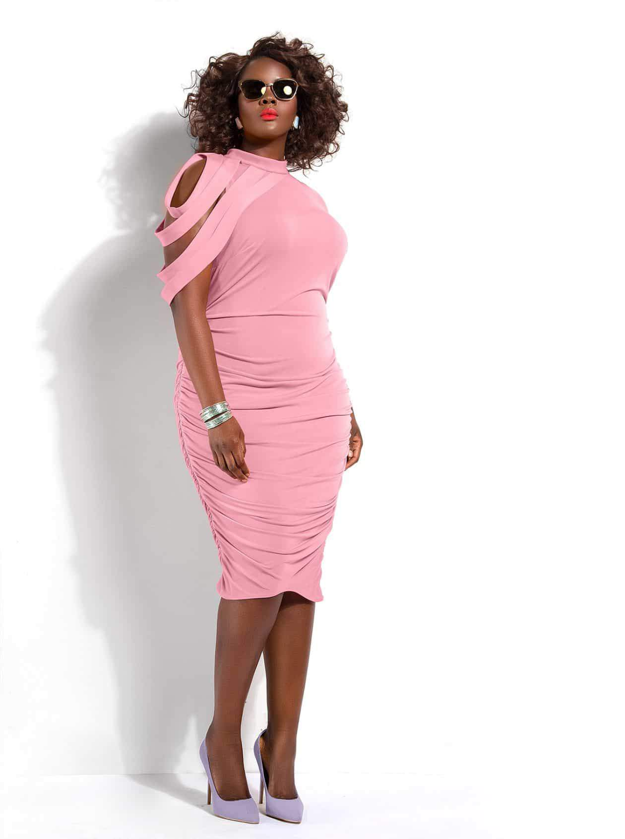 10 Plus Size Wedding Guest Dress Ideas on TheCurvyFashionista.com #TCFStyle