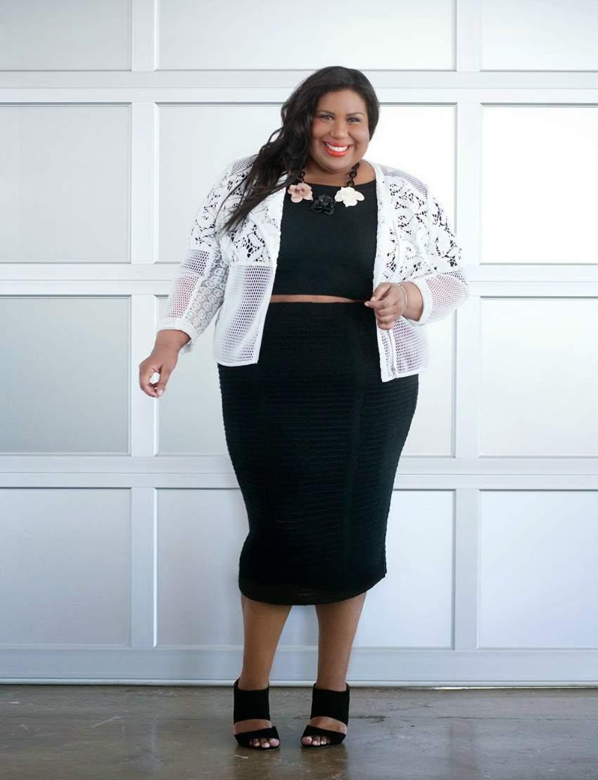 Plus Sze Blogger Spotlight- Kellie B from And I get Dressed via TheCurvyFashionista.com #TCFStyle