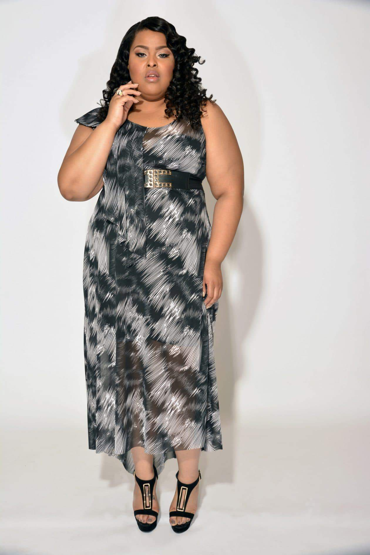 Plus Size Designer Christian Ome'shun: Urbane Chic Collection on TheCurvyFashionista.com