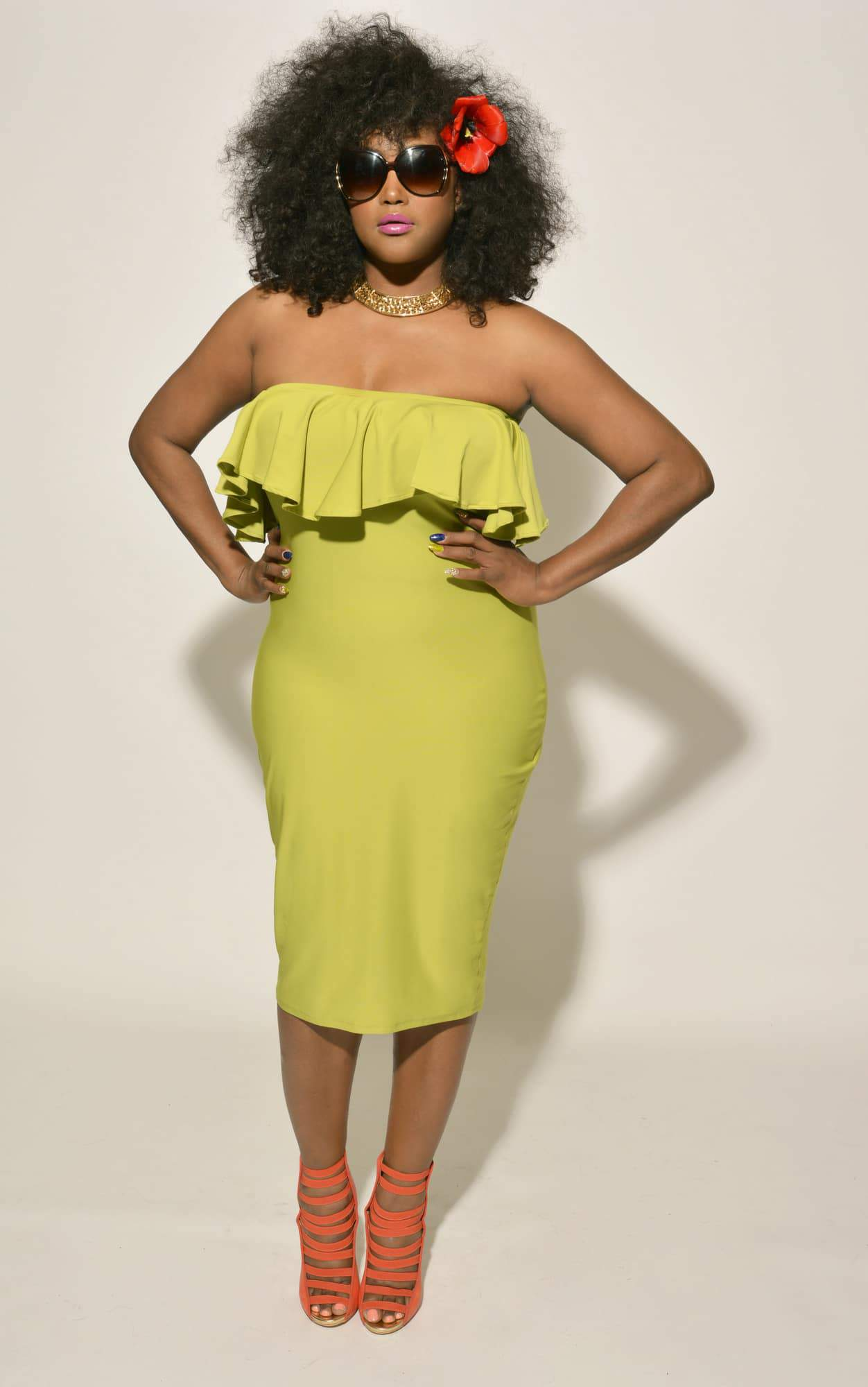 First Look: Plus Size Designer Christian Ome'shun: Urbane Chic Collection