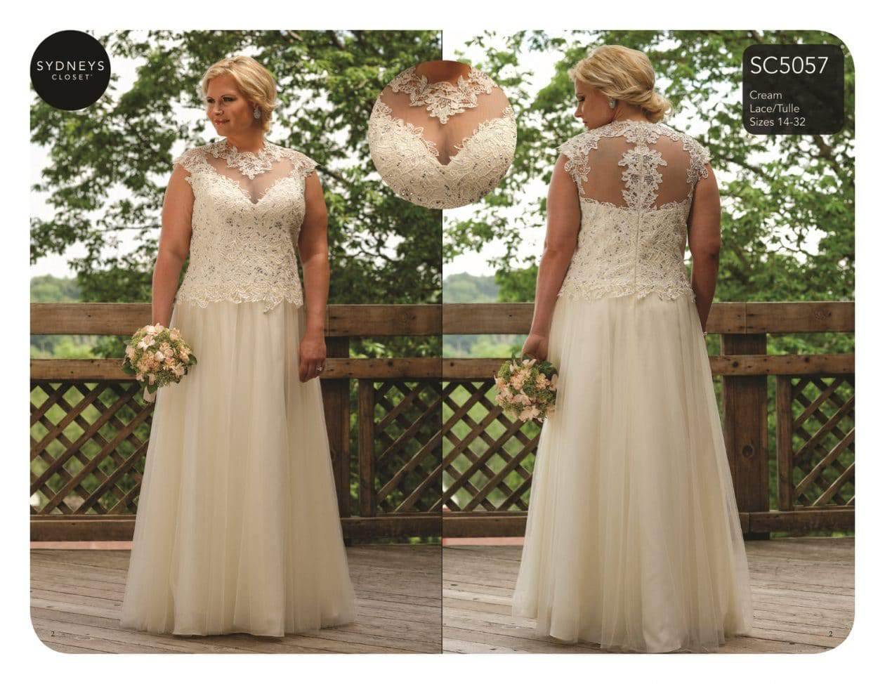 Here Comes The Bride Plus Size Bridal With Sydneys Closet