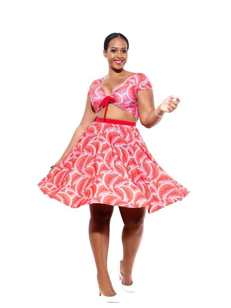 First Look at Rue 107 Curves Watermelon Collection on TheCurvyFashionista.com
