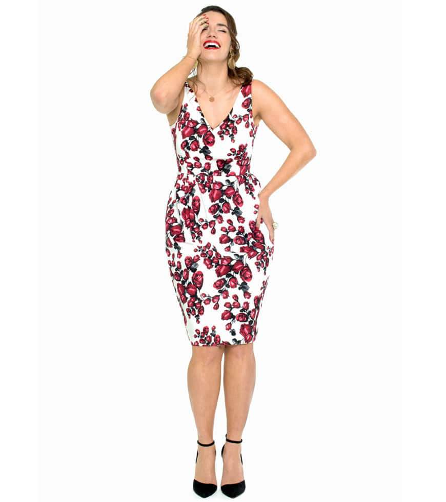 Spring with Plus Size Fashion Label LALA BELLE via TheCurvyFashionista.com