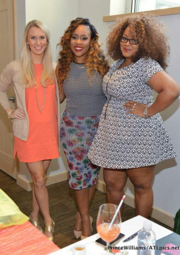 Around ATL:  Erica's Table of 20 Luncheon  featuring Mimi J and Janee Bolden