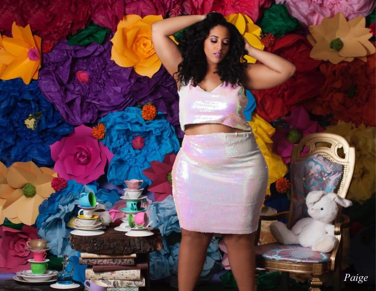 """Plus Size Designer Courtney Noelle's """"Wonderland"""" Spring Collection on TheCurvyFashionista.com"""
