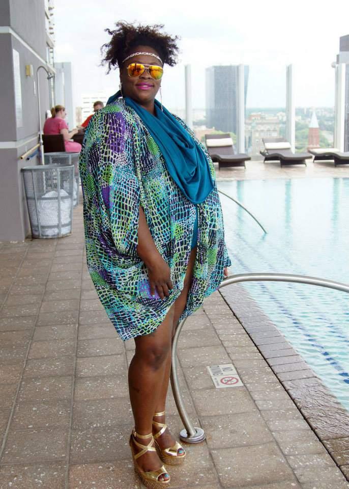 Plus Size Pool Party- The Curvy Fashionista Swim Event #TCFSWIM Recap