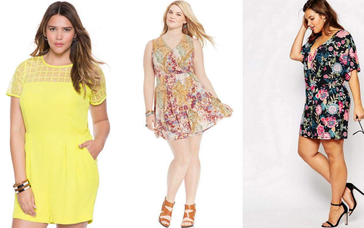 Romp Around- 10 Plus Size Rompers for Spring