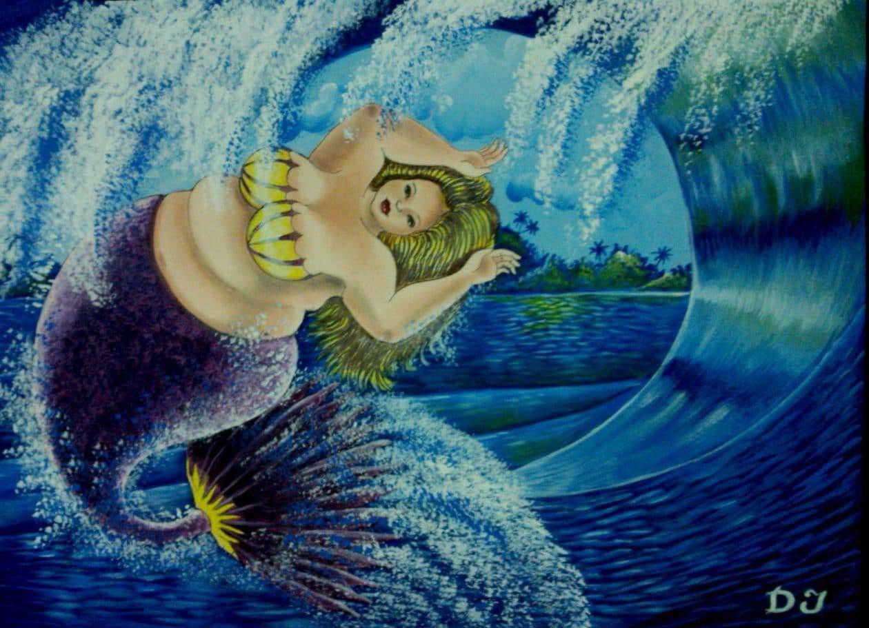 Plus Size Mermaids by D. Jose Maldonado on TheCurvyFashionista.com