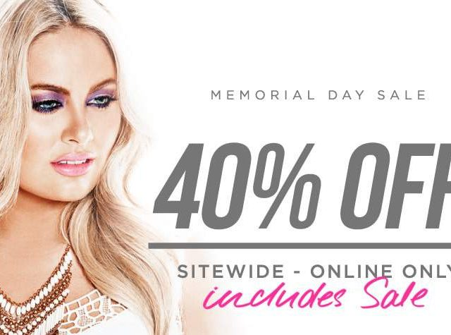 31+ Must Shop Plus Size Sales for Memorial Day!