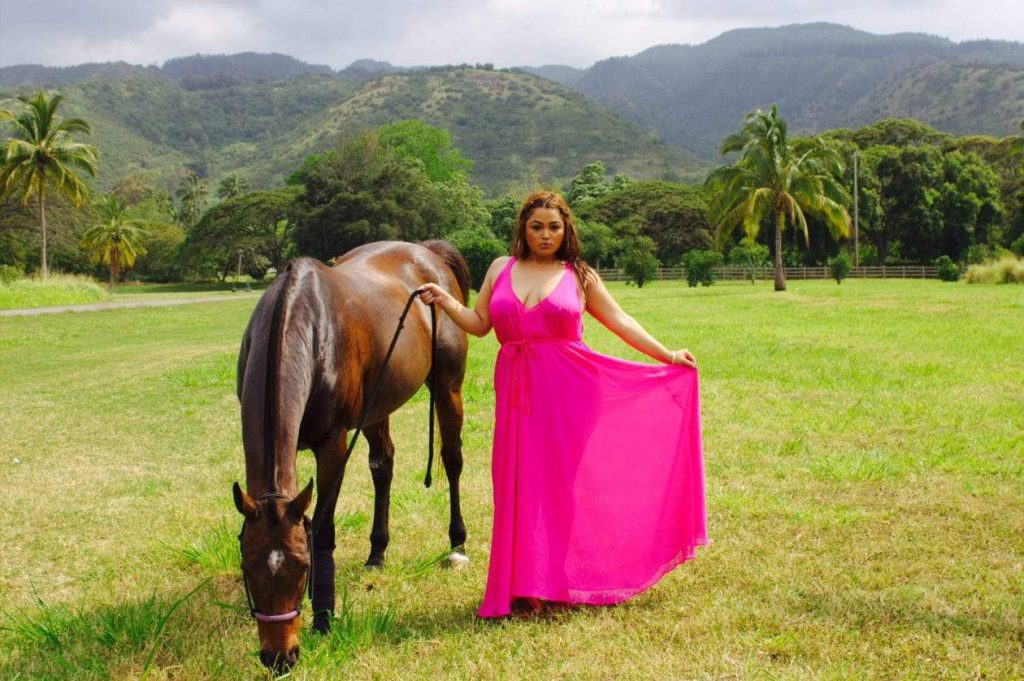 Island Vibes Collection by Plus Size Designer Zelie for She on TheCurvyFashionista.com
