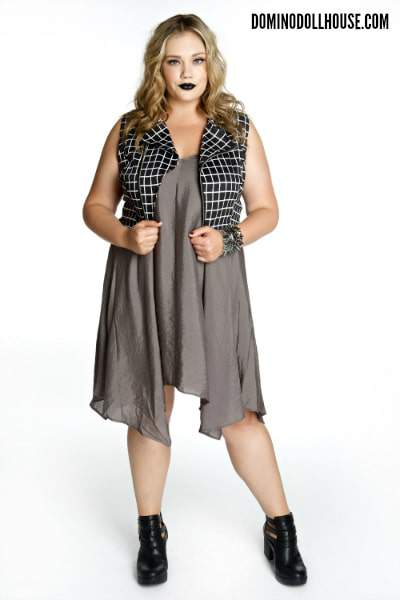 """Doll Parts"" Domino Dollhouse Plus Size Designer Summer Collection on The Curvy Fashionista"