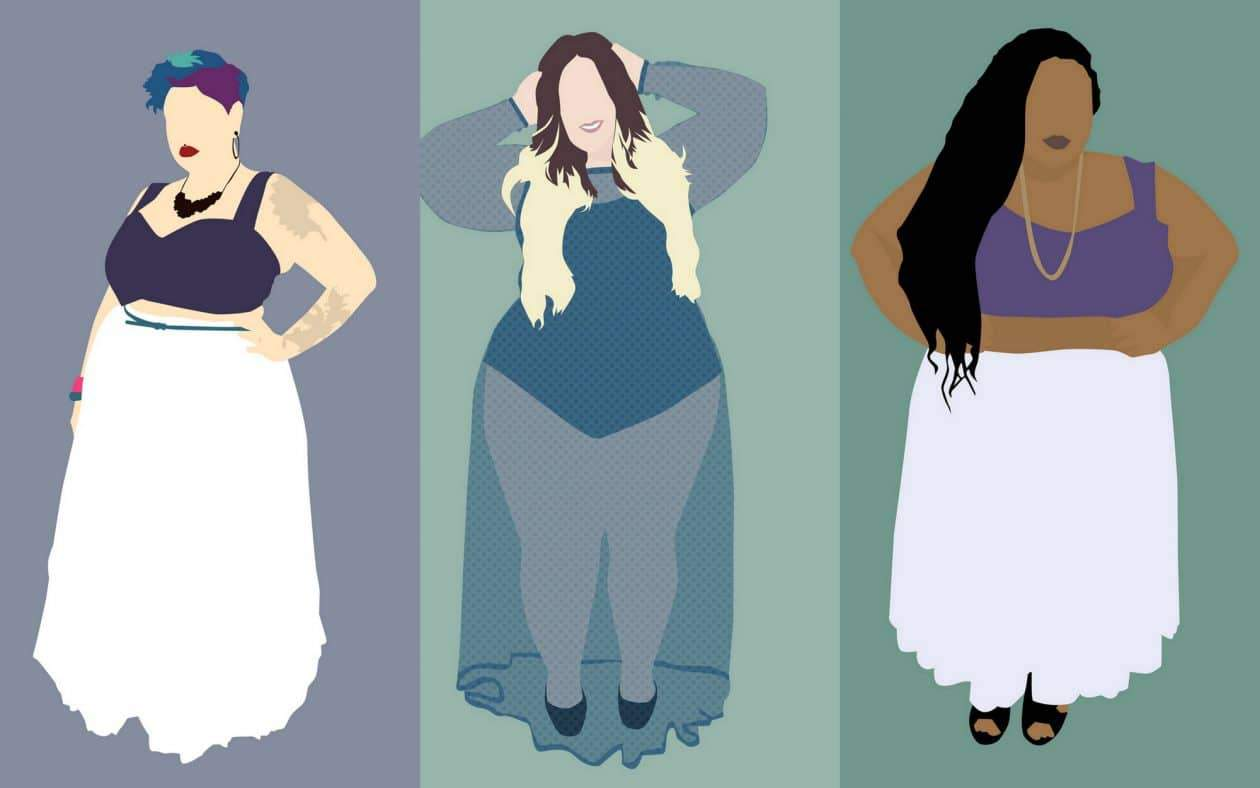 Plus Size Art: Murder of Goths Illustrations