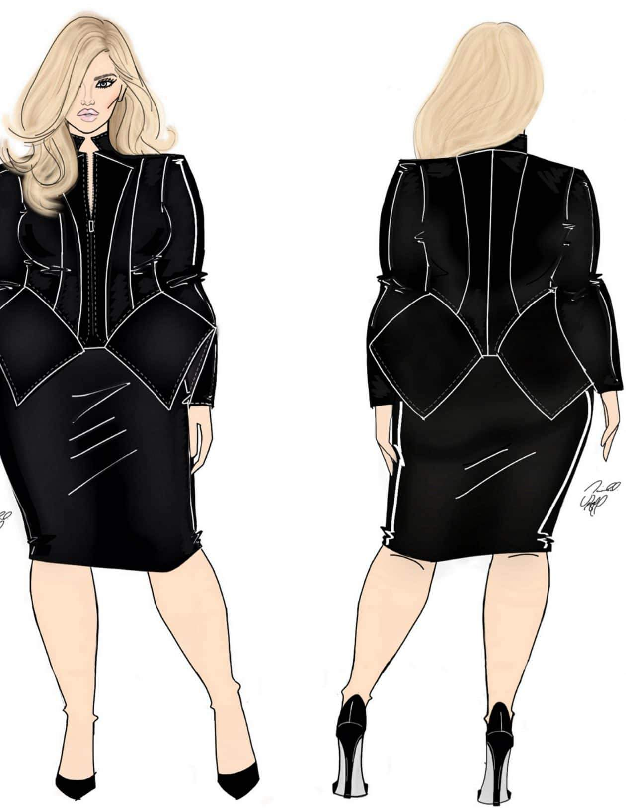 New Contemporary Plus Size Collection- Eleven60 by Kierra Sheard on The Curvy Fashionista
