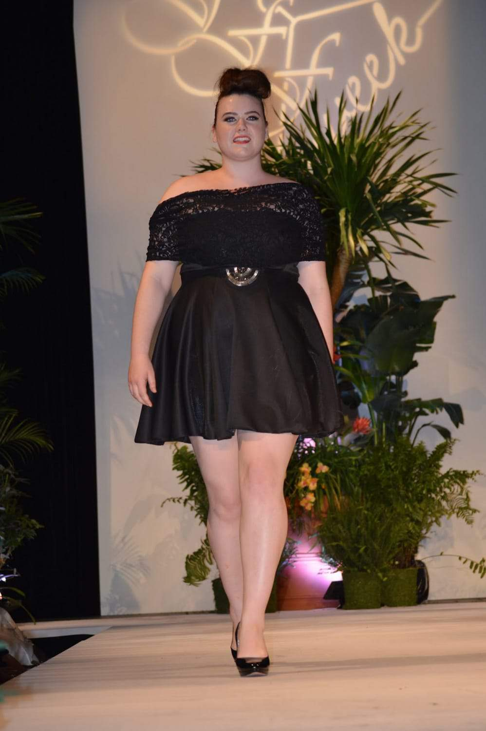 Hannah Caroline Couture at Full Figured Fashion Week 2015