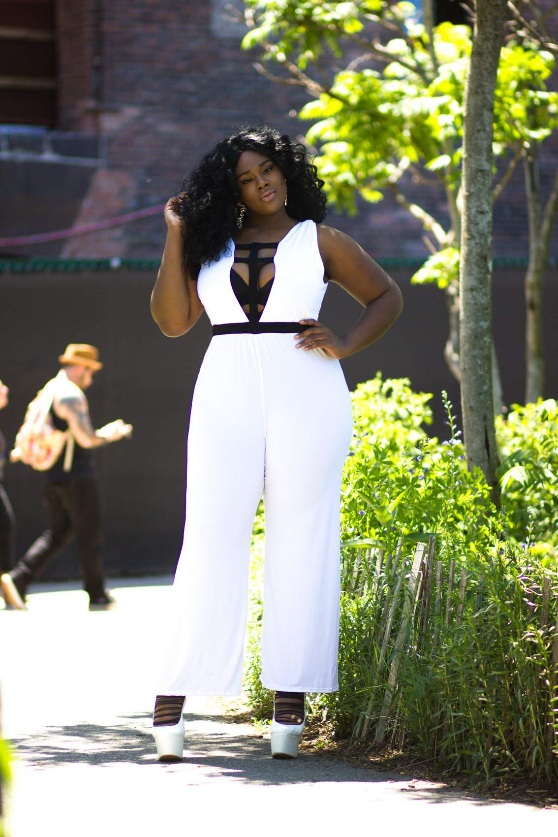 "The Pop Up Plus ""Le Blanc Collection"" on TheCurvyFashionista.com"
