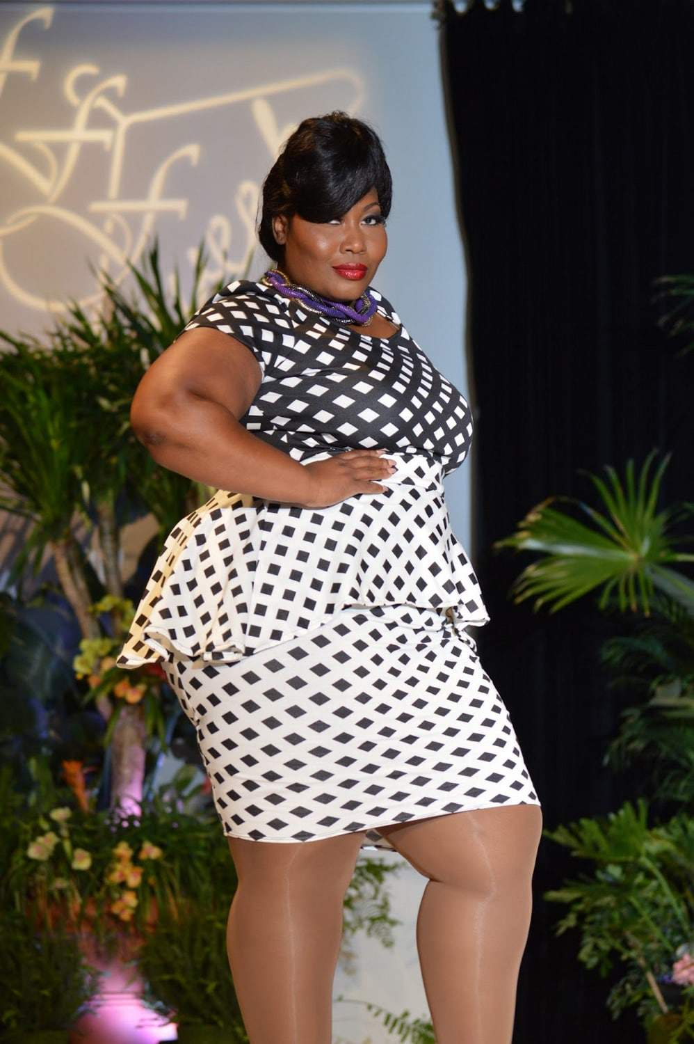 I'Me designs at Full Figured Fashion Week 2015