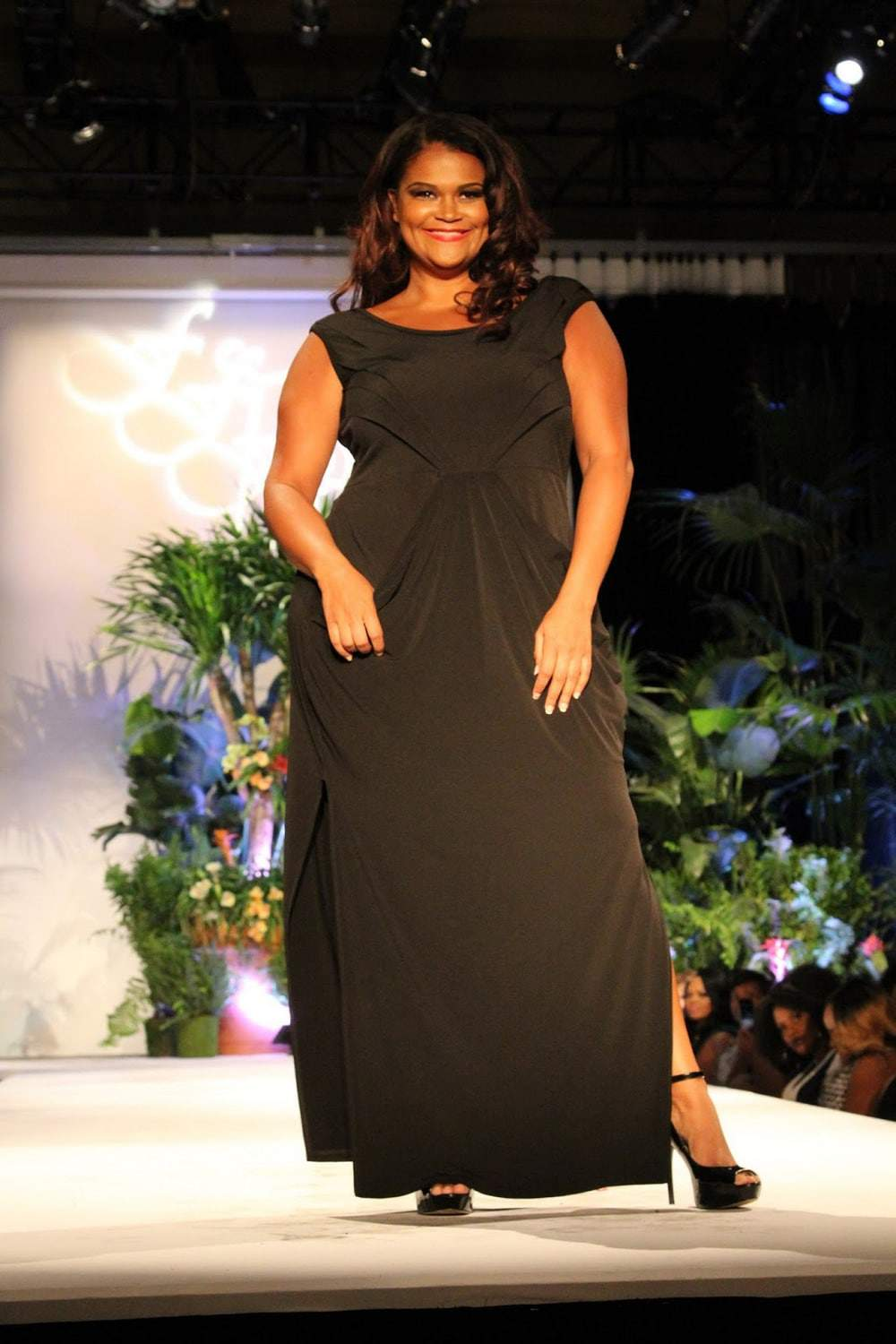 Misty Belvidere at Full Figured Fashion Week 2015