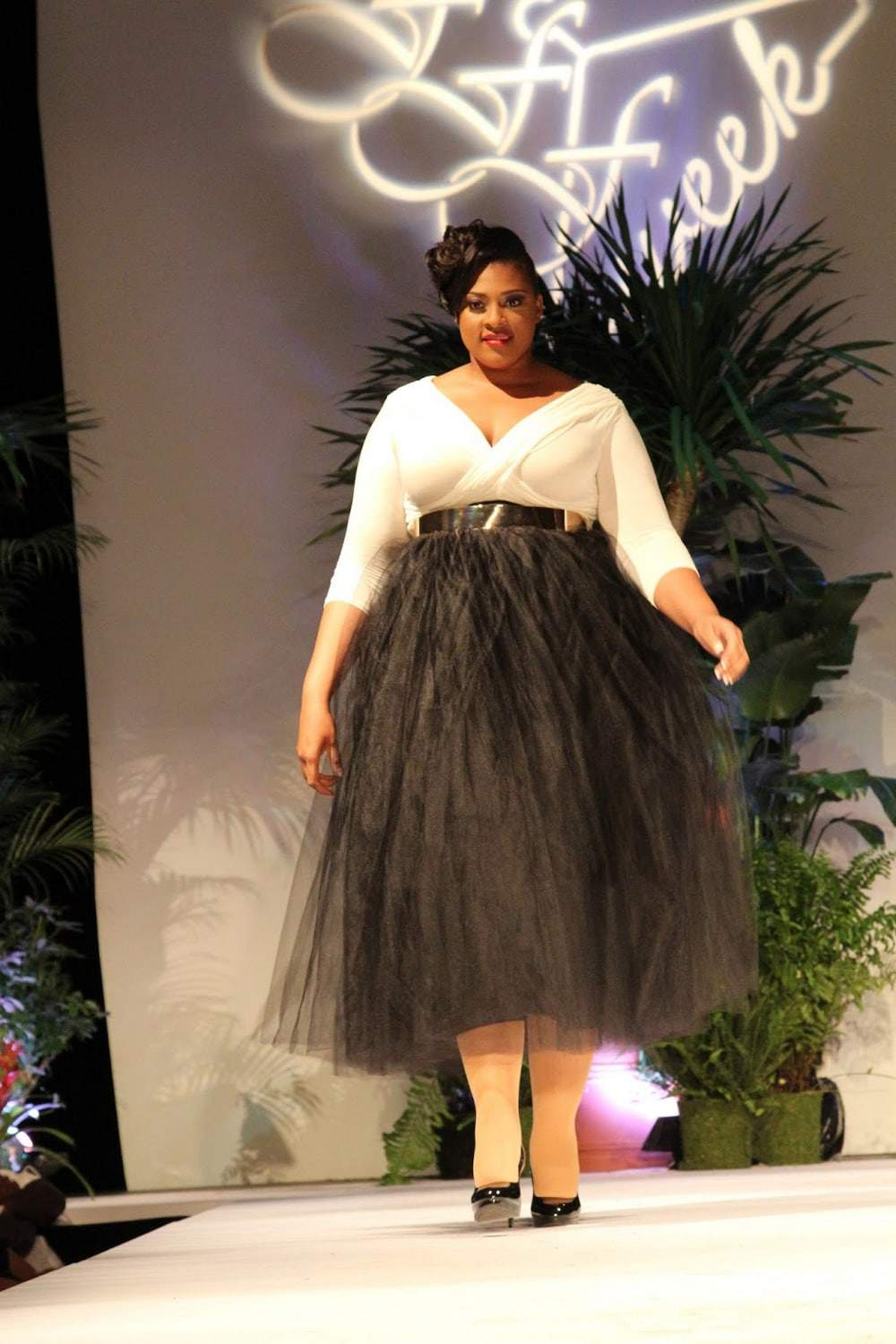 Serita Bell at Full Figured Fashion Week 2015