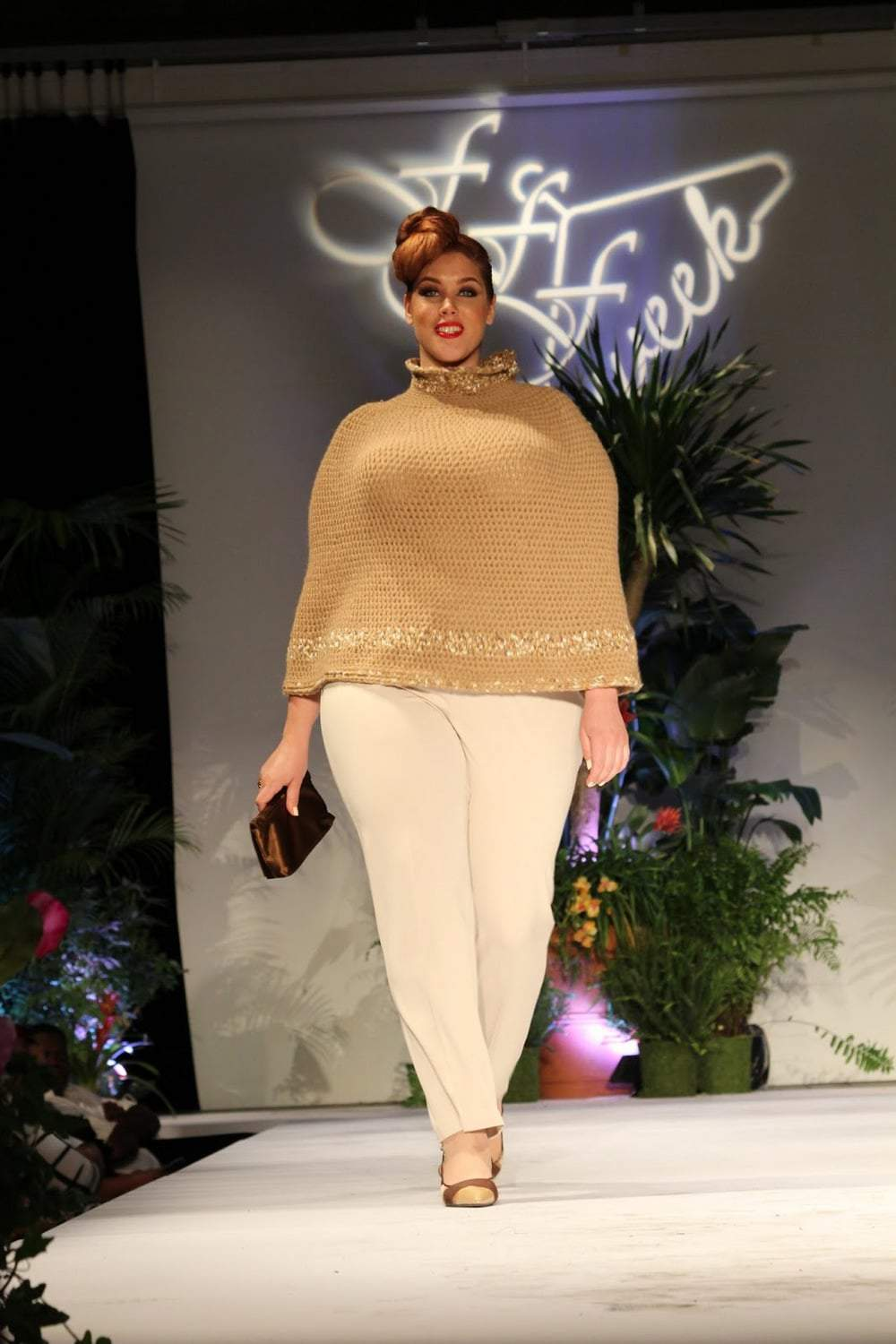Sue Rock Originals at Full Figured Fashion Week 2015