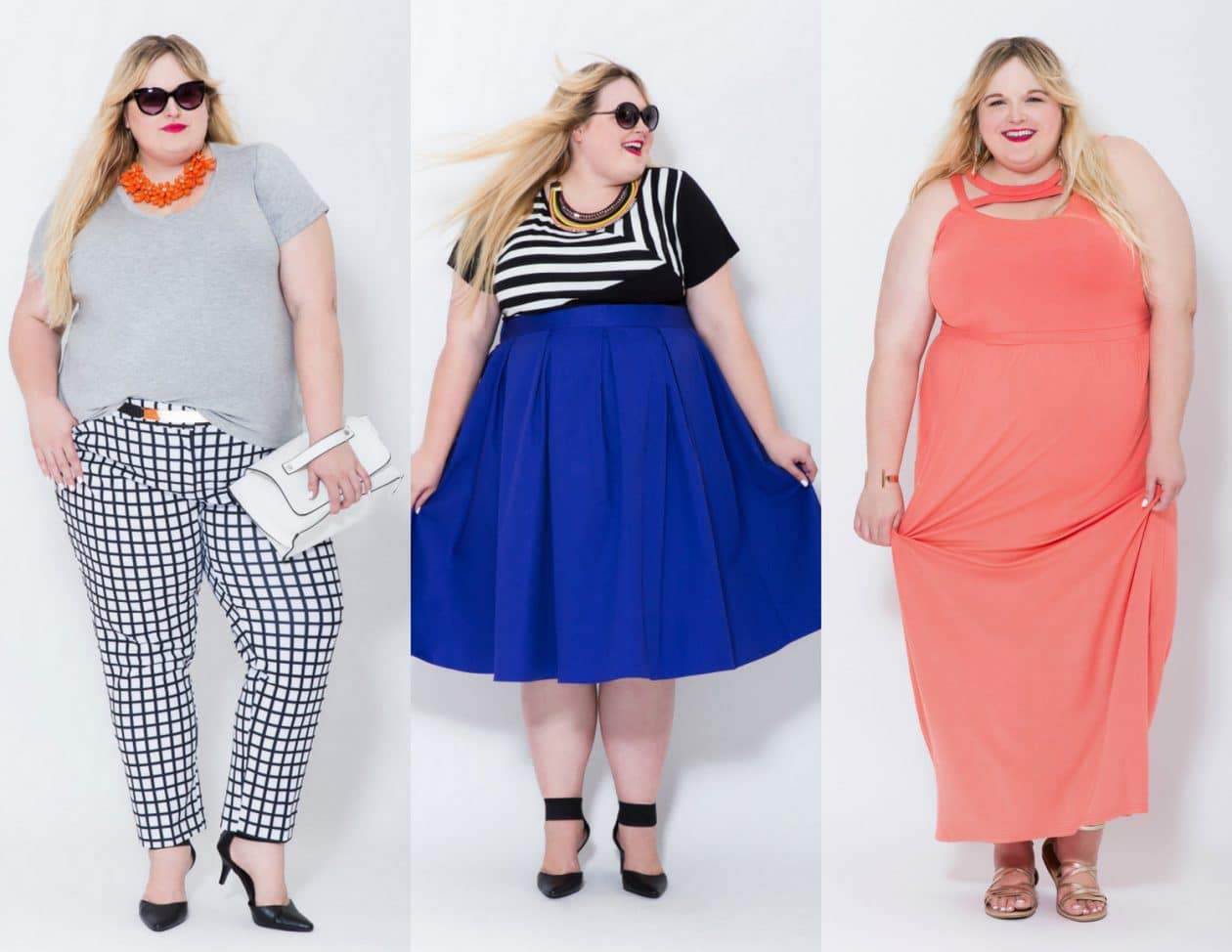 Reah Norman Models in Eloquii's Newest Size 26/28 Look Book on The Curvy Fashionista