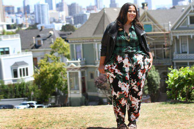 Target's AVA + VIV Fall Look Book with Gabi, Nicolette & Chasity on TheCurvyFashionista.com