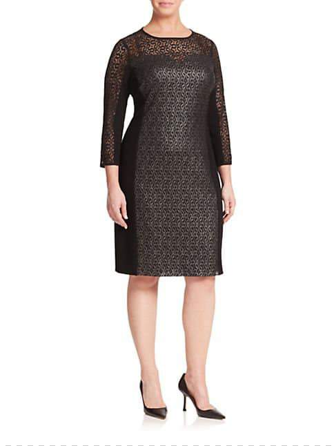 Plus SIze Luxury Designer Marina Rinaldi Fall Collection Launches at Saks Fifth Avenue