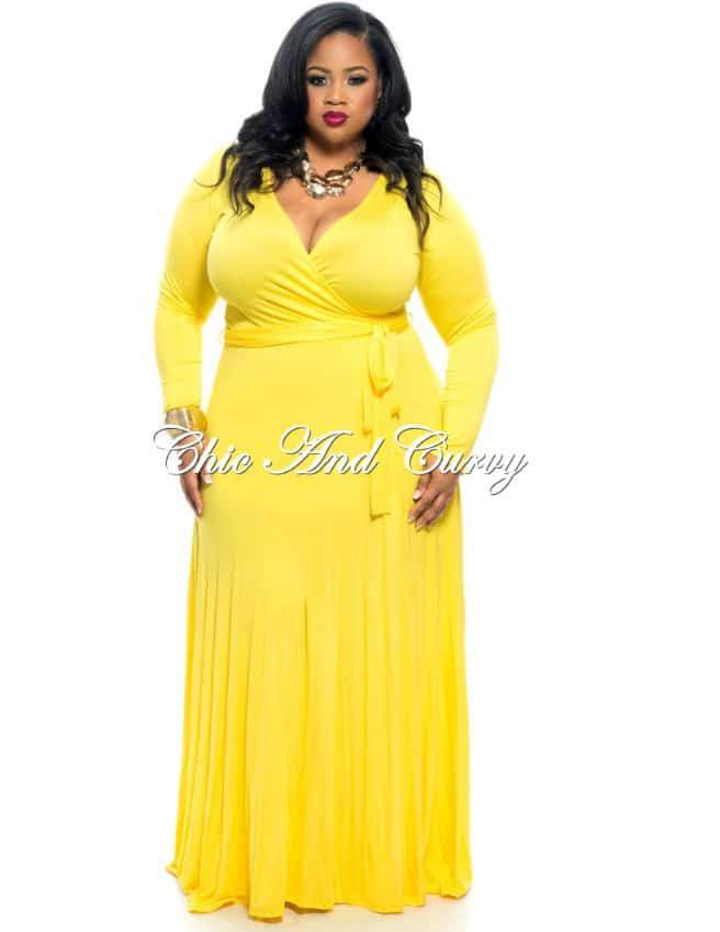 Ten Flirty and Playful Yellow Plus Size Dresses at Every Price!