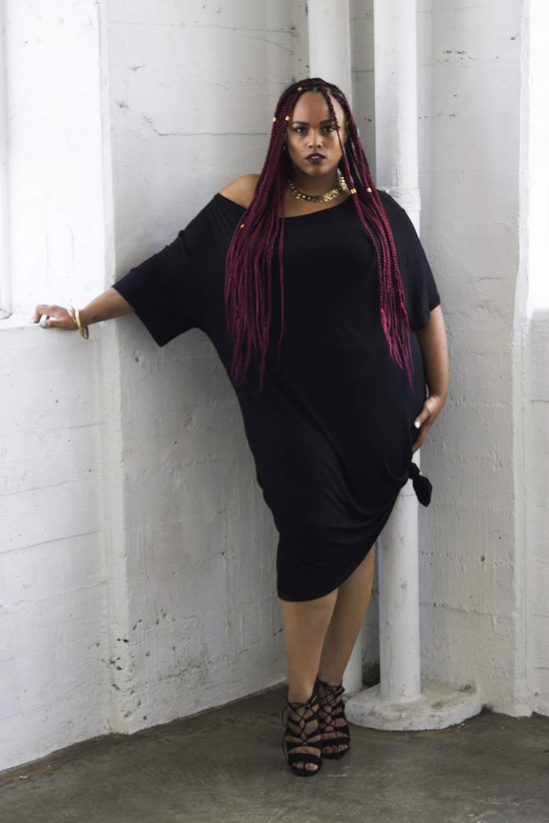"""Plus Size Designer: Zelie for She Pre-Fall 2015 """"Stripped"""" Collection on TheCurvyFashionista.com #TCFStyle"""