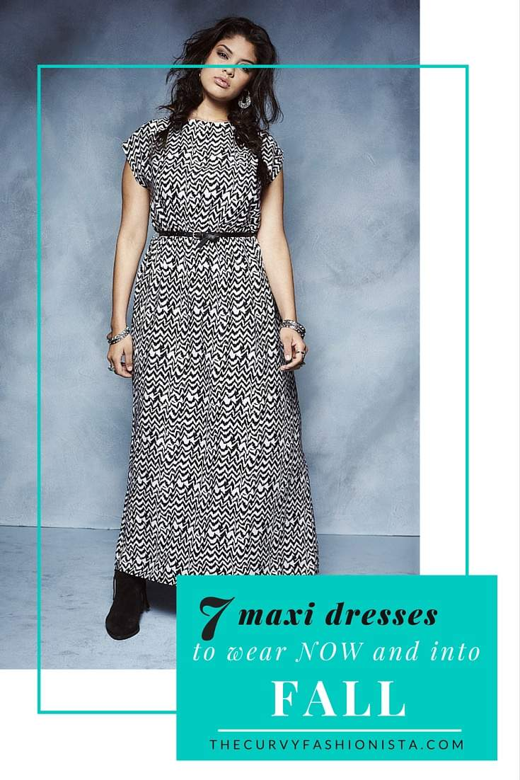 7 Plus Size Maxi Dresses to Wear Now AND into Fall on The Curvy Fashionista