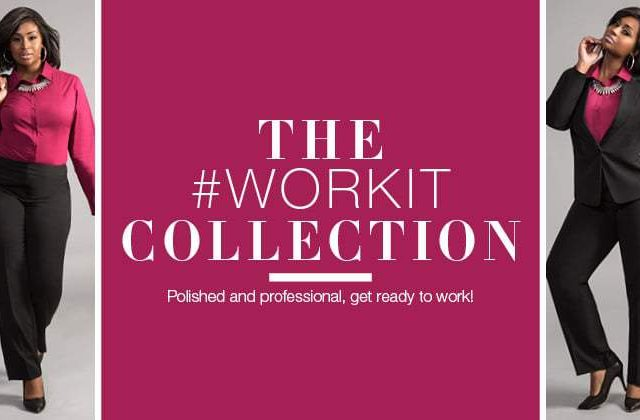 Looking for Plus Size Suiting and Wear to Work Options? #WorkIt with Ashley Stewart!