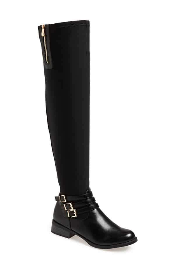 5 Must Have Wide Calf & Over the Knee Boots for Fall on TheCurvyFashionista.com #TCFStyle