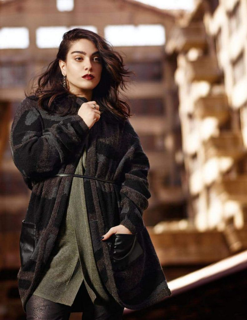 The Nadia Aboulhosn x Addition Elle Capsule Collection on TheCuyvFashionista.com #TCFStyle