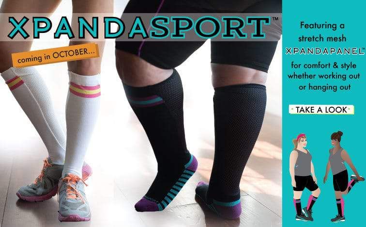Socks for Your Wide Calves? Meet Xpandasox