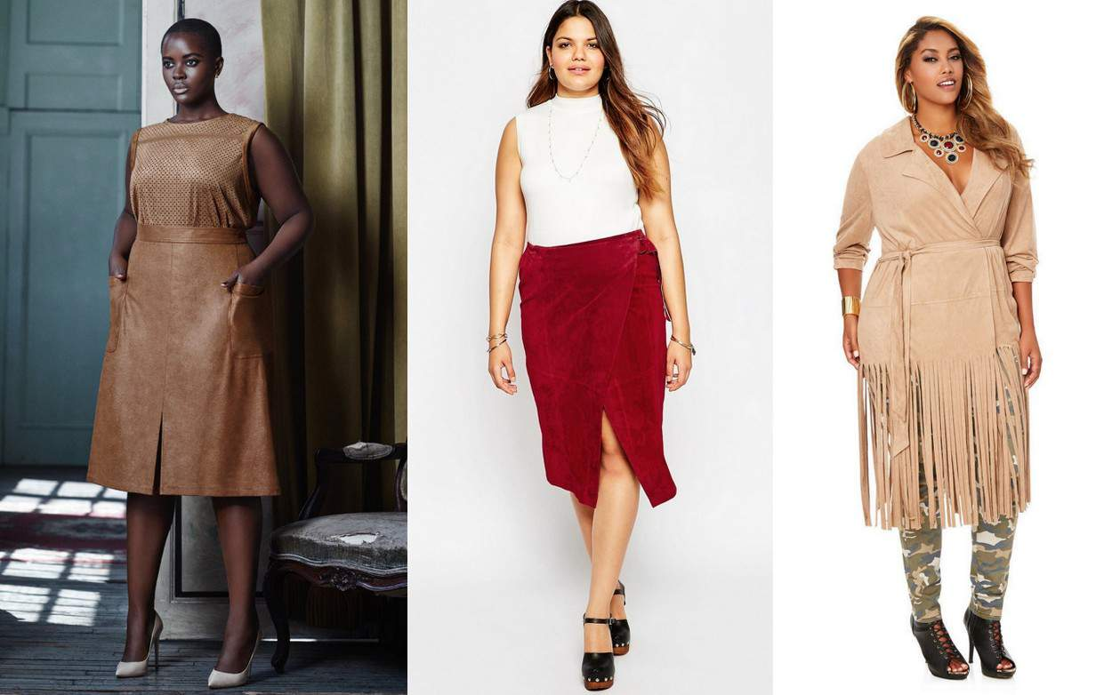 15 Plus Size Suede Picks to Heat Up Your Fall Style NOW!