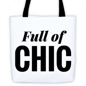 Full of Chic Tote on The Curvy Fashionista