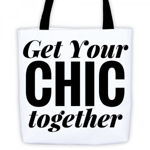 Get Your Chic Together Tote by The Curvy Fashionista