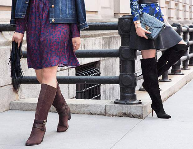 5 Must Have Wide Calf &amp Over the Knee Boots for Fall