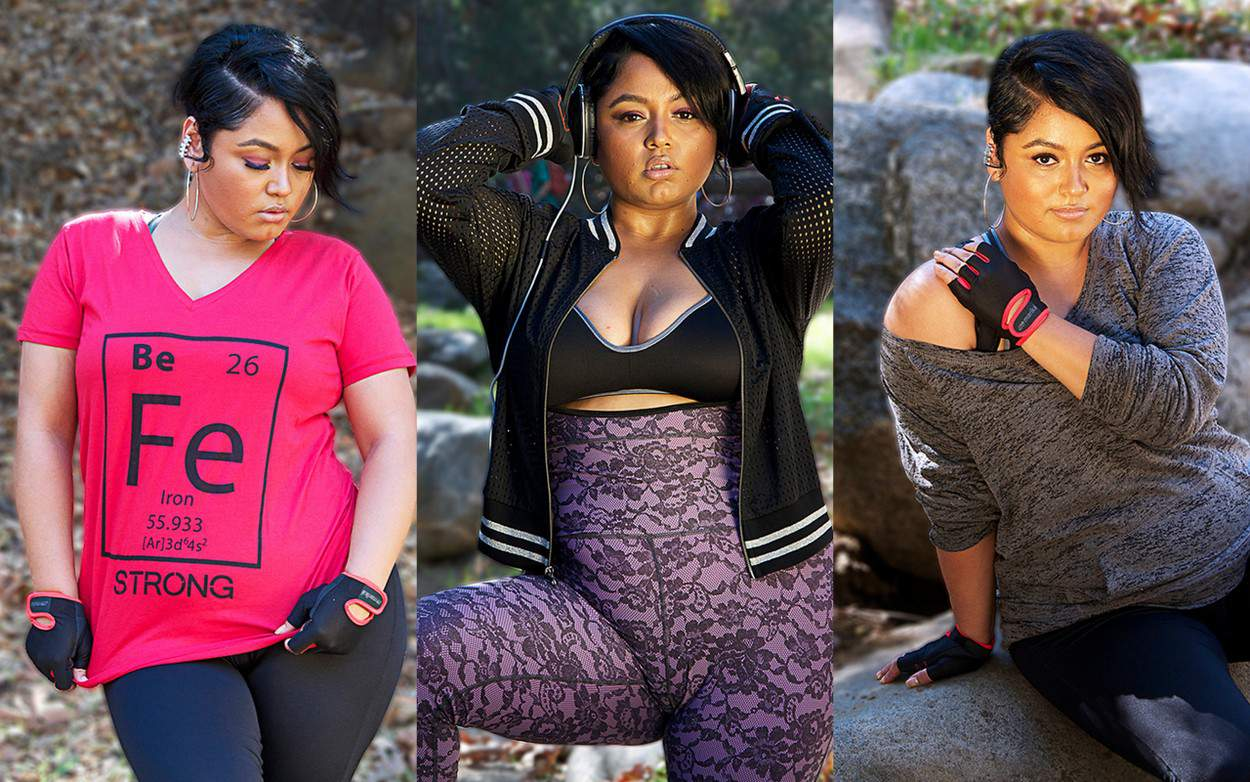 Because Plus Size Activewear Can Be Cute AND Functional- Just Curves
