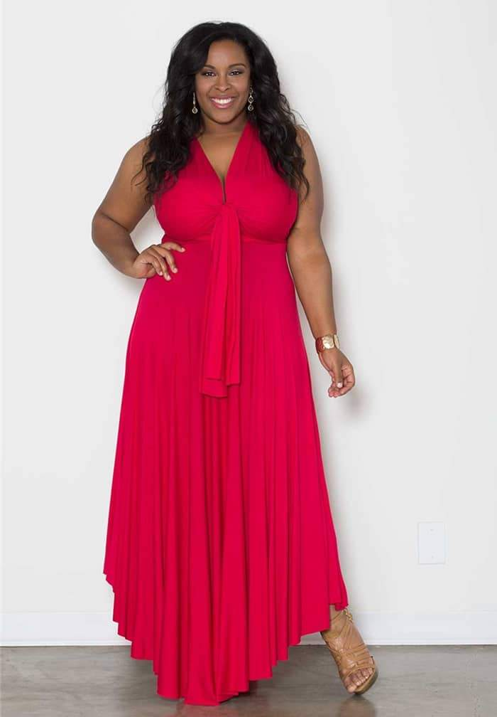 Eternity Maxi Convertible Dress by Sealed With A Kiss