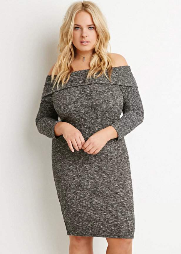 15 Plus Size Sweater Dresses You Have to See Now on The Curvy Fashionista