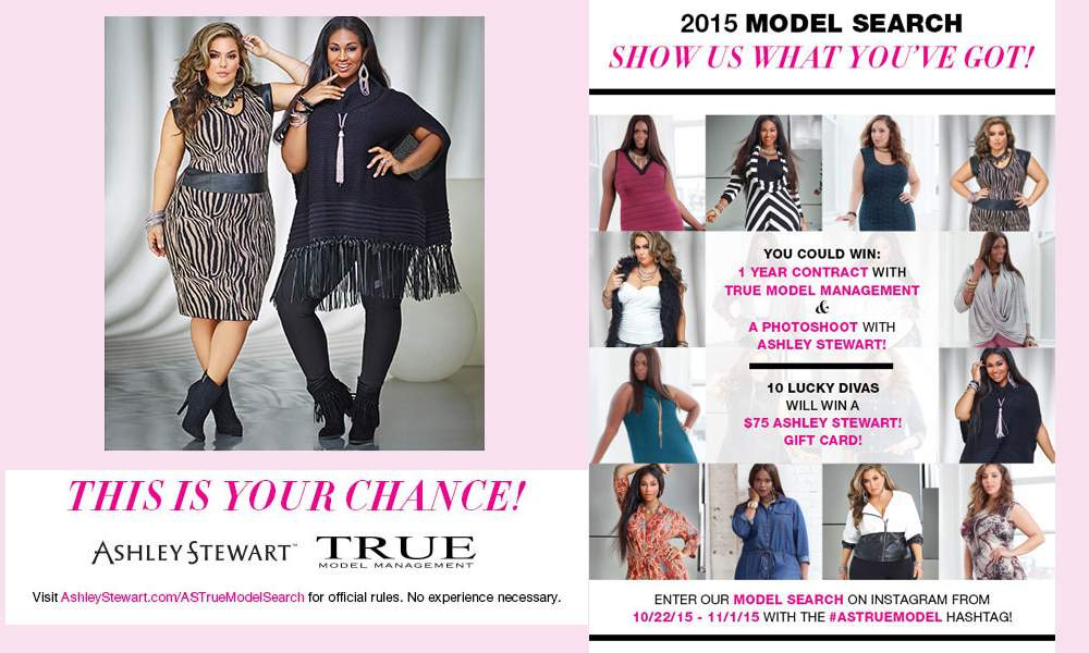 Ashley Stewart Model Search