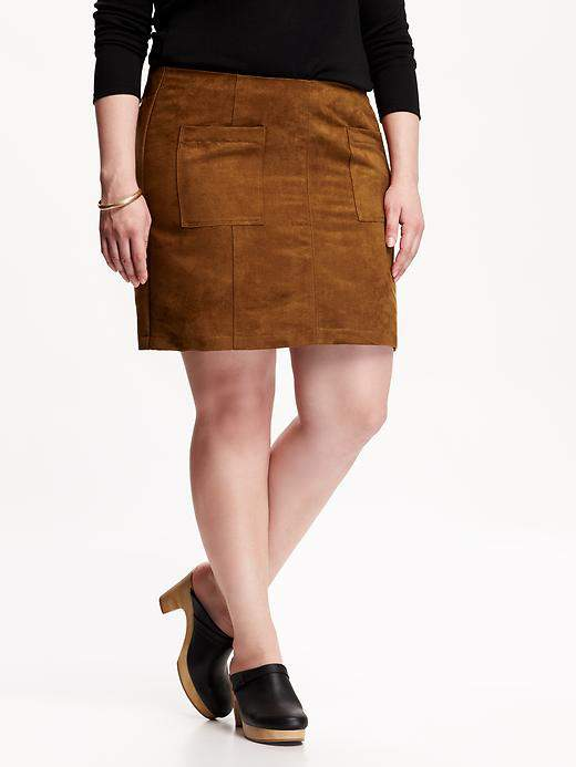 7 Skirt Trends Interpreted for Petite Plus Size on TheCurvyFashionista.com