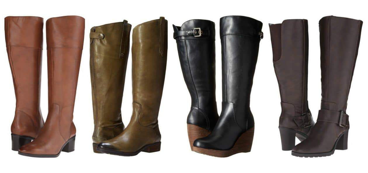 16360888344c 9 Place to Shop for Wide Calf Boots