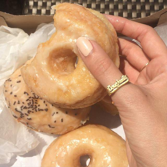 DOUGHNUTS RING by Snash Jewelry