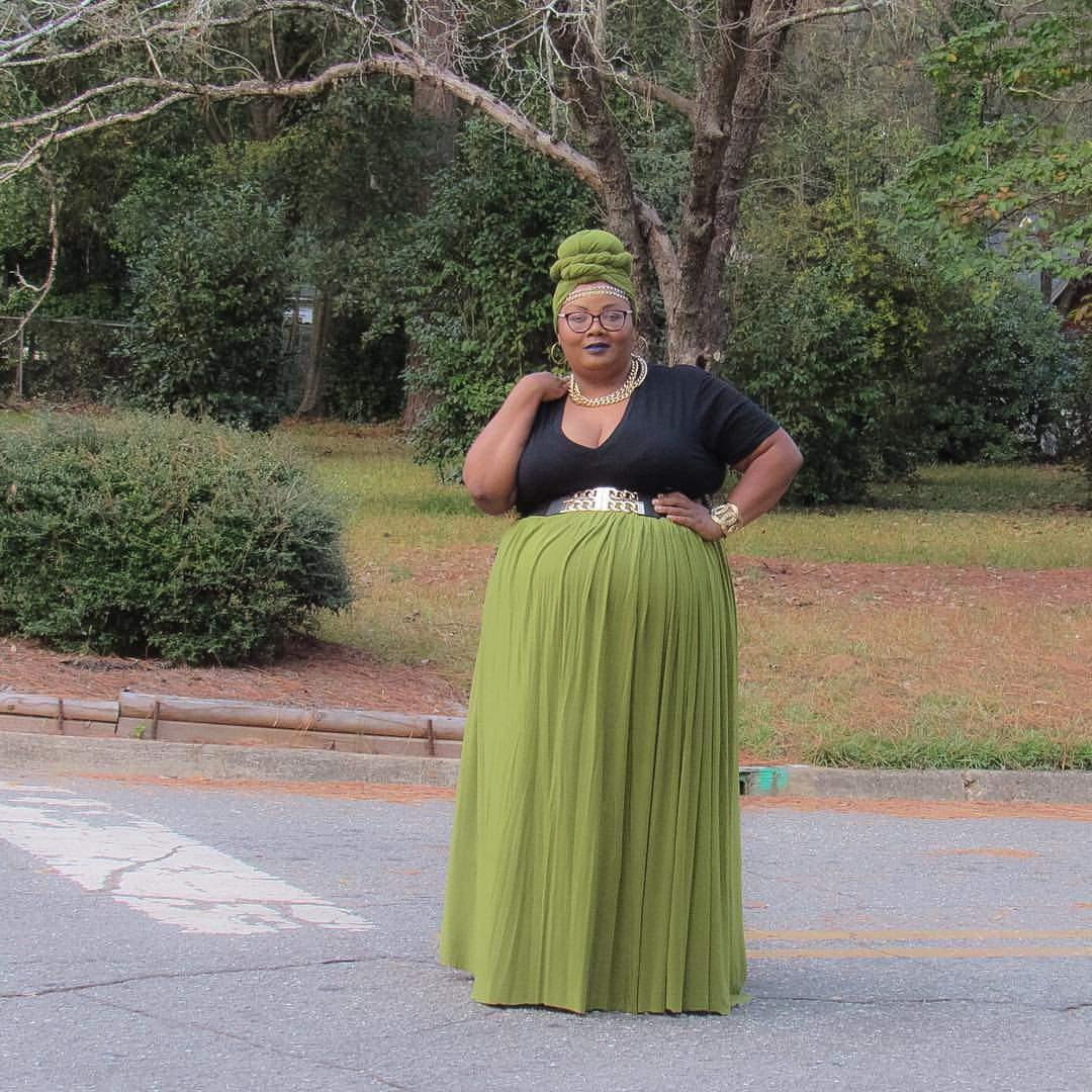 Plus Size Blogger- Maui of Phat Girl Fresh
