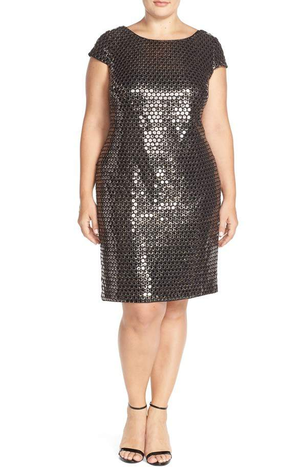 21 Plus Size Sequined Pieces You Need to WOW for the Holidays on The Curvy Fashionista