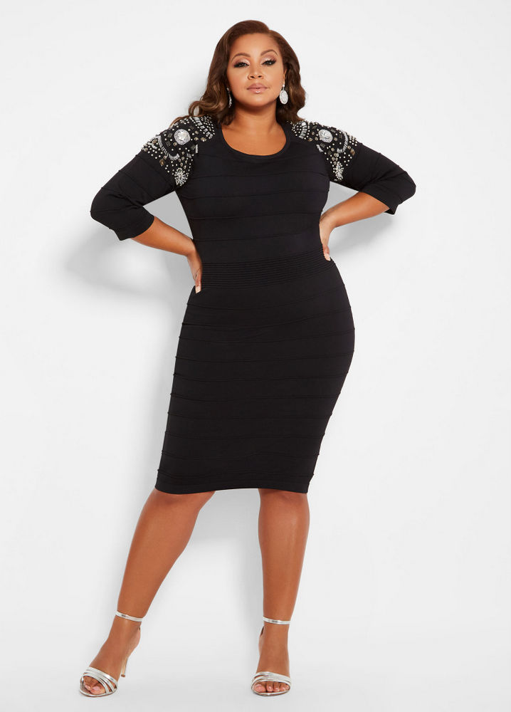 fe84bd810c1 Keeping it Cozy  15 Plus Size Sweater Dresses You Have to See Now