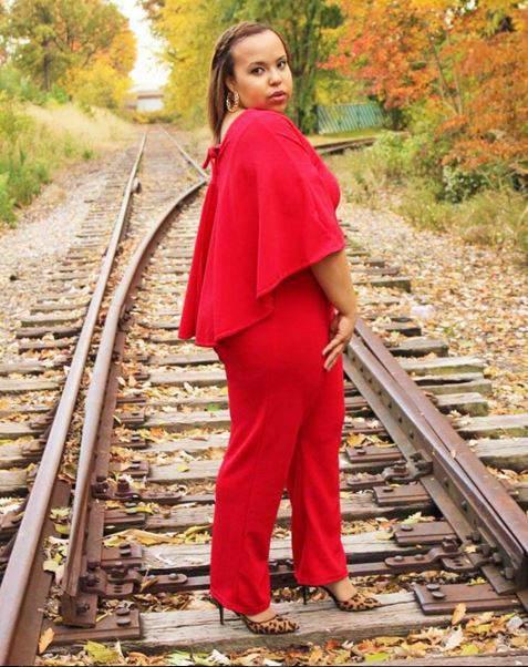 clothesmindedbyjo wearing Ashley Stewart