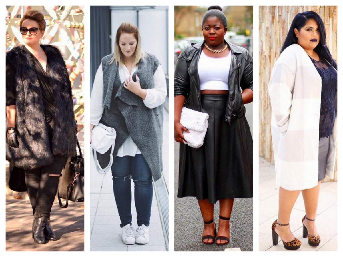 Plus size outerwear fashion and style inspiration #TCFStyle
