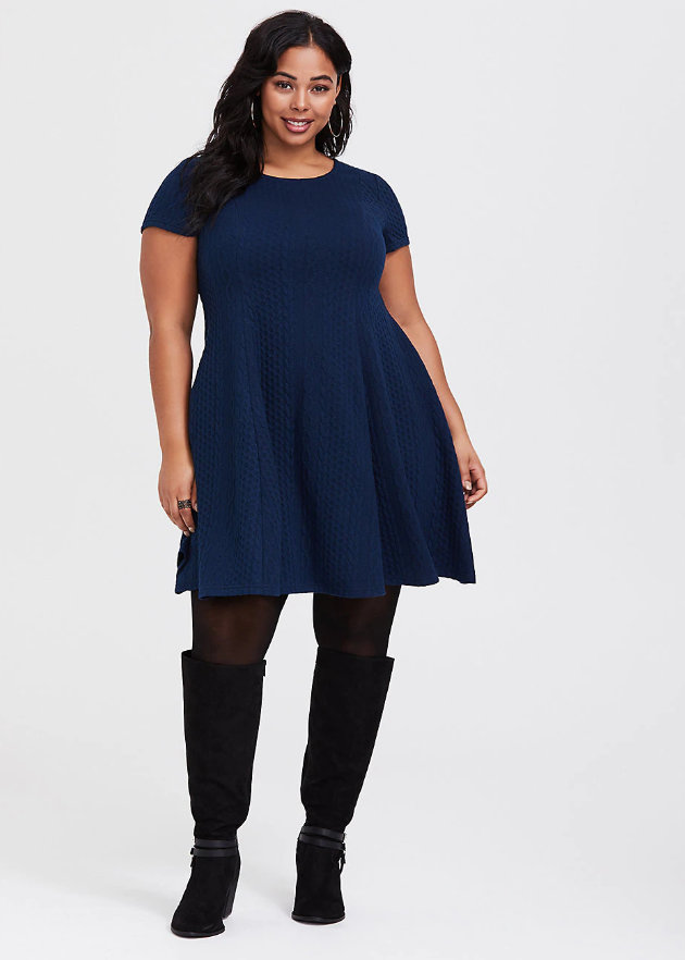 Keeping it Cozy: 15 Plus Size Sweater Dresses You Have to See Now